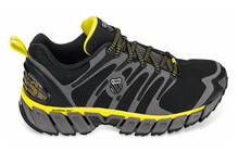 K-Swiss Men's Blade-Max Trail black/charcoal/bight yellow